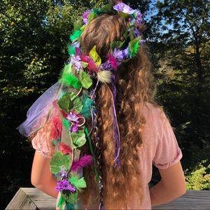 Bohemian Flower Crown Nature Leaf Headband